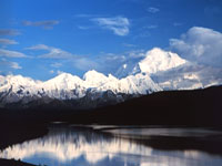 Denali from Wonder Lake © National Park Service