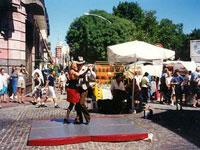 Informal tango in Plaza Dorrego Buenos Aires © Judith Duk
