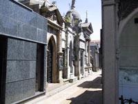 Recoleta Cemetery Buenos Aires ©