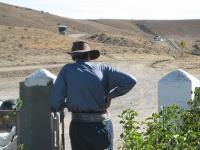 A gaucho surveys the land in Argentina © runoutside