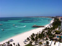 Palm Beach in Aruba ©