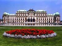 Belvedere Palace in Vienna Austria ©