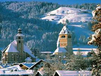 Kitzbühel in the Austrian Alps