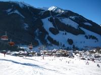 Saalbach in the Austrian Alps