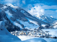 Saalbach in the Austrian Alps
