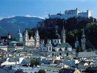 Hohensalzburg Fortress near Salzburg in Austria © Tourismus Salzburg GmbH