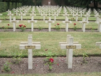 French military WW1 graves, Belgium © Zeisterre