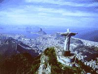 Christ the Redeemer overlooking the city ©