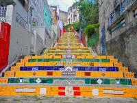 Selaron Steps, Santa Teresa © Rogerio Zgiet