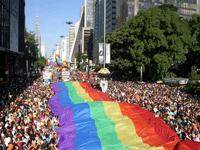 Sao Paulo Gay Parade © Alessandra Saraiva