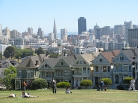 View from Alamo Square © Yair Haklai