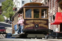 Cable car in San Francisco © Daniel Schwen