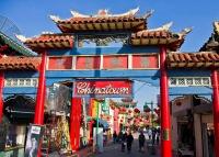 Chinatown, Los Angeles © Antoine Taveneaux