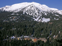 Mammoth Mountain and village