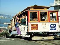 Cable car, San Francisco © San Francisco Convention and Visitors Bureau