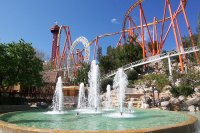 Six Flags Magic Mountain © Jeff Turner