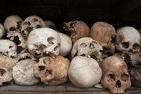 Skulls at Choeung Ek © istolethetv