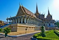The Royal Palace, Phnom Penh © Justin Vidamo