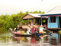 Tonlé Sap Lake © La Xtina