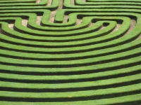 Cockington Green Gardens Maze © Michael