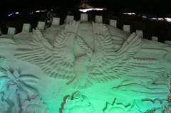 Snow sculpture © Bridget Coila