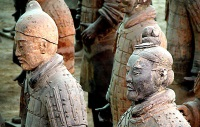 Terracotta Soldiers © Peter Morgan