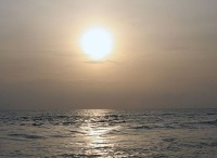 Sunset in Pointe Noire © Ferdinand Reus