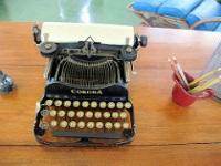 Hemingway's typewriter at Finca Vigia © Bruce Tuten