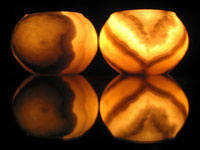 Alabaster vases © Victoriapeckham