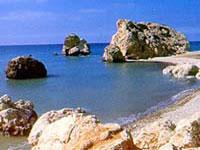 Aphrodite Rocks, Paphos © Cyprus Tourism