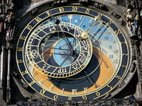 Prague Astronomical Clock © Hector Zenil