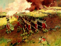 Battle of Bunker Hill by Howard Pyle ©