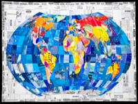 World Map, Amy Orr © www.thedcca.org