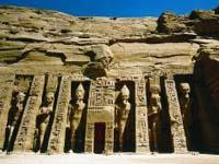 Temple of Hathor, Abu Simbel ©