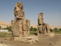 Colossi of Memnon © Silke Baron