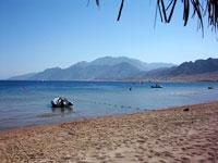 Dahab main beach