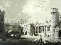 A Litholint of Berkeley Castle © F.W. Hulme