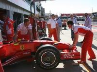 The Ferrari pit © p_c_w