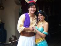 Aladdin and Jasmine © Loren Javier