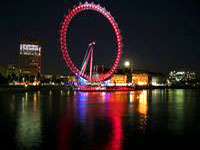 London Eye at night © Tunliweb