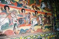 Lake Tana church mural © David Fair