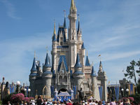 Cinderella Castle at Walt Disney World © cd.harrison