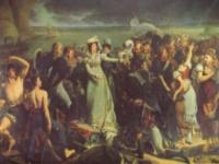 L\'embarquement de la duchesse d\'Angoulême, Antoine-Jean Gros ©
