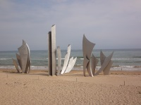 Omaha Beach Memorial © Gind2005
