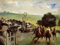 Races at Longchamp - Édouard Manet, 1867 ©