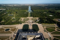 Aerial view of the Palace of Versailles, France © ToucanWings