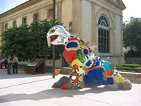 \'Dragon\' by Niki de Saint Phalle © Eric
