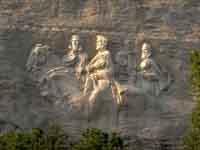 Stone Mountain, Atlanta © Atlanta DeKalb Convention & Visitors Bureau