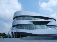 Mercedes-Benz Museum © Chris Tomlinson