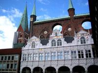 Lübeck Town Hall © Torstein Frogner